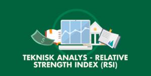 Läs mer om artikeln RSI – Förklaring av indikatorn och hur den används