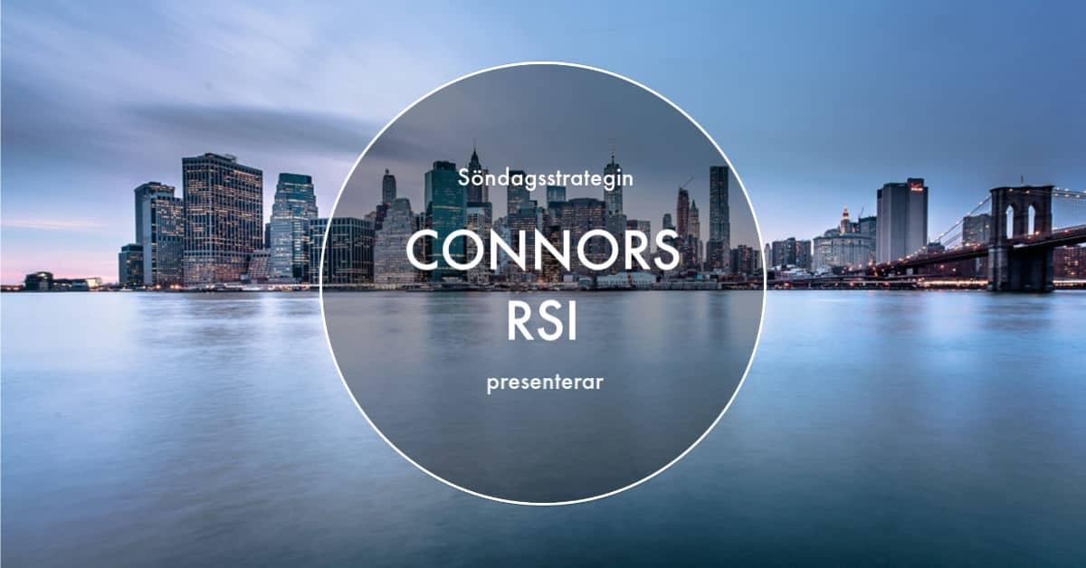 Hur du kan tjäna pengar på OMXS30 med Connors RSI   Nineambell