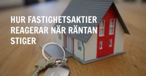 Räntans påverkan på fastighetsaktier