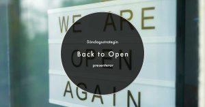 Läs mer om artikeln Back to Open